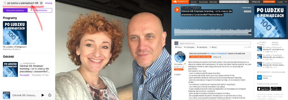 podcast Paulina Mazur employer branding po ludzku o pieniądzach