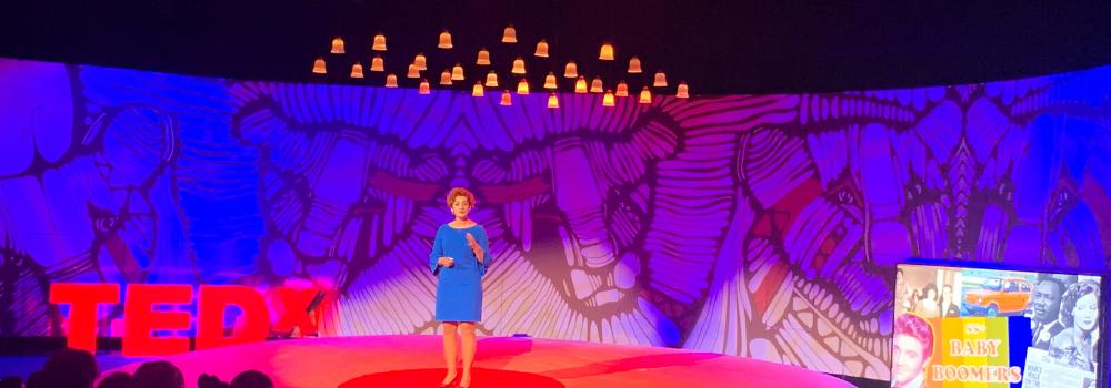 Paulina Mazur na TEDx Warsaw Woman