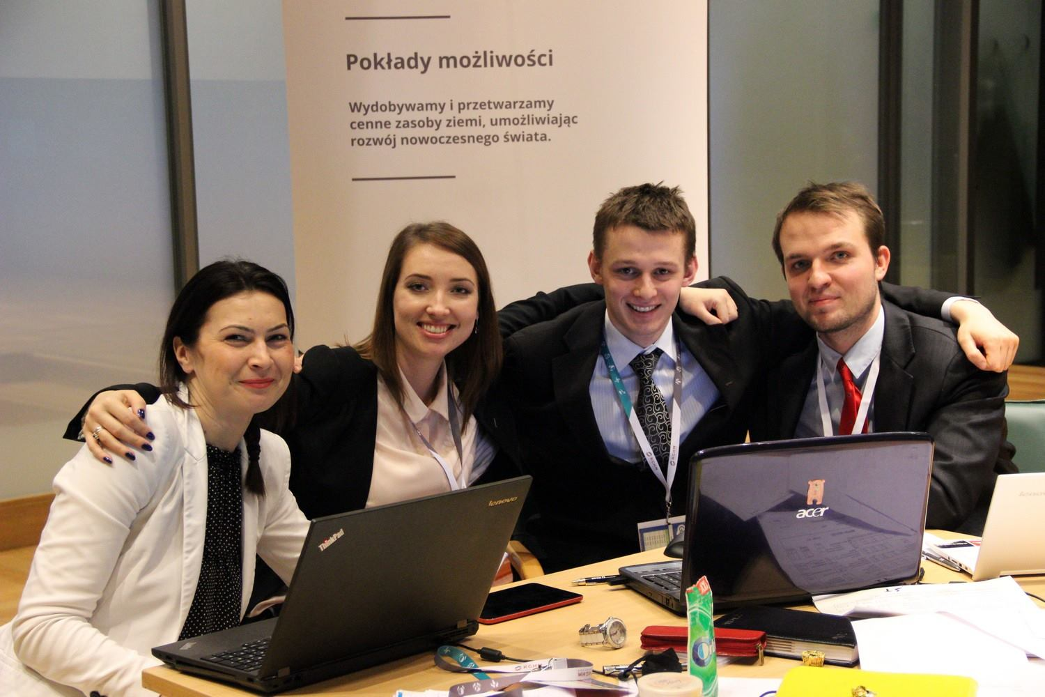 zdjęcie zespołu z konkursu GMC Poland