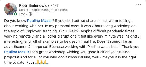 Piotr Roche rekomendacje